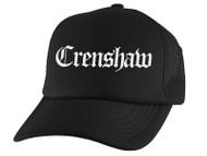 Gravity Threads Crenshaw Old English Trucker Hat