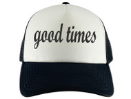 Gravity Threads Good Times Adjustable Trucker Hat