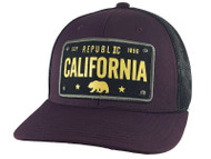 Top Headwear Republic California 1850 Adjustable Trucker Hat