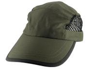 Top Headwear Nylon Oxford and Mesh Cap