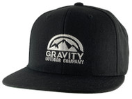 Gravity Outdoor Co. Logo Authentic Snapback Hat
