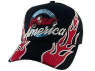 Gravity Threads Road Race America Adjustable Baseball Cap