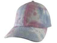 Top Headwear Adjustable Tie-Dyed Dad Hat