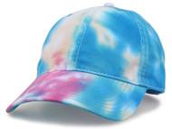 Top Headwear Adjustable Tie-Dyed Twill Cap