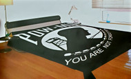 POW MIA  Acrylic Blend Blanket - Fits King & Queen Size