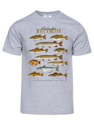 Gravity Trading Mens Freshwater Records Short-Sleeve T-Shirt