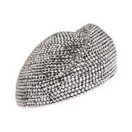 Top Headwear Trendy Rhinestone Beret