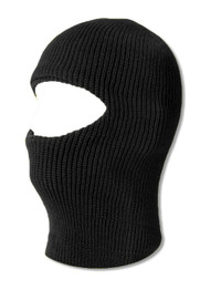 TopHeadwear One 1 Hole Ski Mask - Black