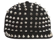 Fashionable Trendy Spiked Billed Snapback Cap