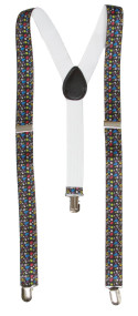 3 Clip Stretchable Suspenders 2 pack