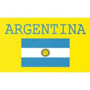 World Cup National Soccer Team - Argentina - Pool/Beach/Bath Towel