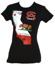 Women's California State Bear 1850 Crew Neck T-Shirt
