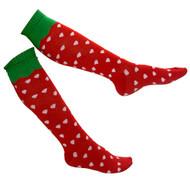 Gravity Threads Pattern Design Knee Length Socks