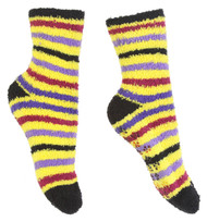 Gravity Threads Fuzzy Cozy Socks With Daisy Grip On Bottom Buy 1 Get 1 Free