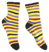 Gravity Threads Fuzzy Cozy Socks With Daisy Grip On Bottom Buy 1 Get 1 Free