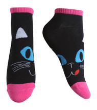 Gravity Threads Pattern Design Ankle Length Socks