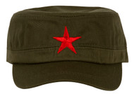 New Army Cadet Adjustable Hat w/ Red Star
