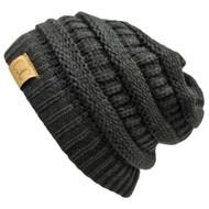 Thick Knit Soft Stretch Beanie Cap