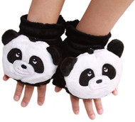 Animal Faux Fur Gloves