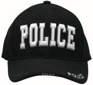 Rothco Black Deluxe SWAT Insignia Cap