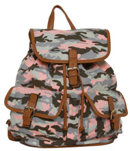 "Designer Outdoors ""Celeste ce Sair"" Camo Rucksack/Backpack"