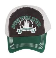 Body Glove Brand Cotton FlexFit Hat - Brown / Green
