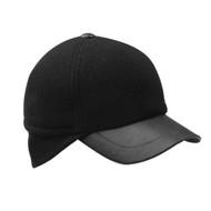 MEN'S WOOL CAP W/ WARMER FLAP