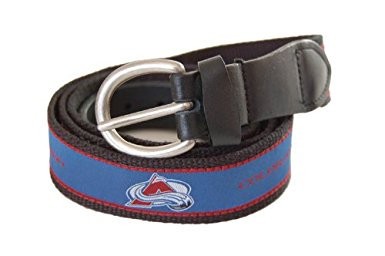 The Mark Adult Canvas Material NHL Colorado Avalanche w/Buckle Closure