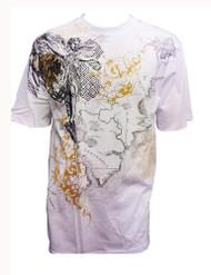 Konflic Archangel World Atlas MMA Muscle Heavy Weight T-shirt