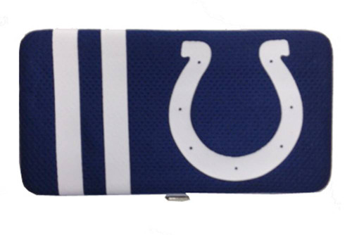 New NFL Shell Mesh Clutch Wallet - Indianapolis Colts