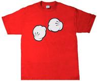 Cartoon Fists Graphic T-Shirt