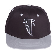 Atlanta Falcons Black/Grey Two Tone Plastic Snapback Adjustable Cap