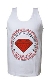 California Republic Diamond Tank Top Shirt