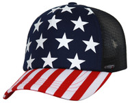 5 Panel USA Foam Trucker Cap