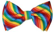 Pre-tied Bowtie - Rainbow