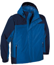 Big Mens Waterproof Nootka Jacket by Port Authority, Regatta Blue 2XLT