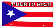 National Plastic License Plate Cover Holder, Puerto Rico
