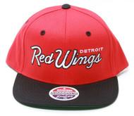 Zephyr NHL Detroit Red Wings Script Snapback Hat
