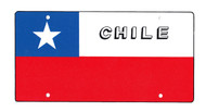 National Plastic License Plate Cover Holder, Chile