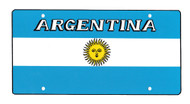 National Plastic License Plate Cover Holder, Argentina