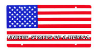 National Plastic License Plate Cover Holder, USA