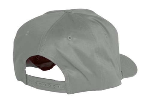 Cotton Twill Golf Cap - Grey