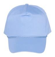 Cotton Twill Golf Cap - Light Blue