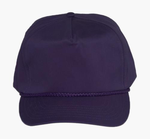 Cotton Twill Golf Cap - Purple