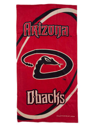 Arizona Diamondbacks Fiber Reactive Pool/Beach/Bath Towel