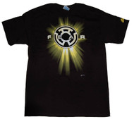 Officially Licensed DC Comics Fear Yellow Lantern T-Shirt