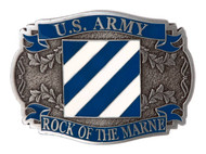 United States Army 3rd Infantry Belt Buckle