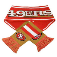Forever Collectibles NFL Watermark Logo Scarf - San Francisco 49ers