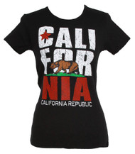 Women's California Republic Bold Crew Neck T-Shirt