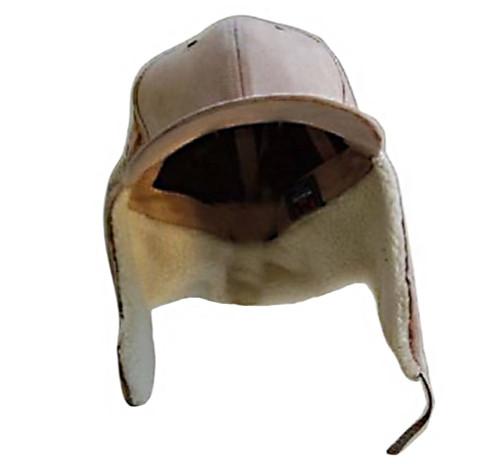 New Khaki Winter Trapper Cotton Fake Fur Hunting Hat